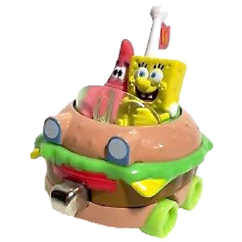 Nickelodeon Carro do Bob Esponja com Patrick Learning Curve escala 1/64