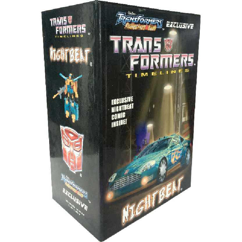 Nightbeat Hasbro Transformers Collectors Club Timelines 2008 02-08 TFCC action figure