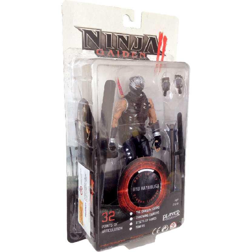 Ninja Gaiden 2 Ryu Hayabusa Bonecos de Ninja da Neca Toys (32 pontos articuláveis)