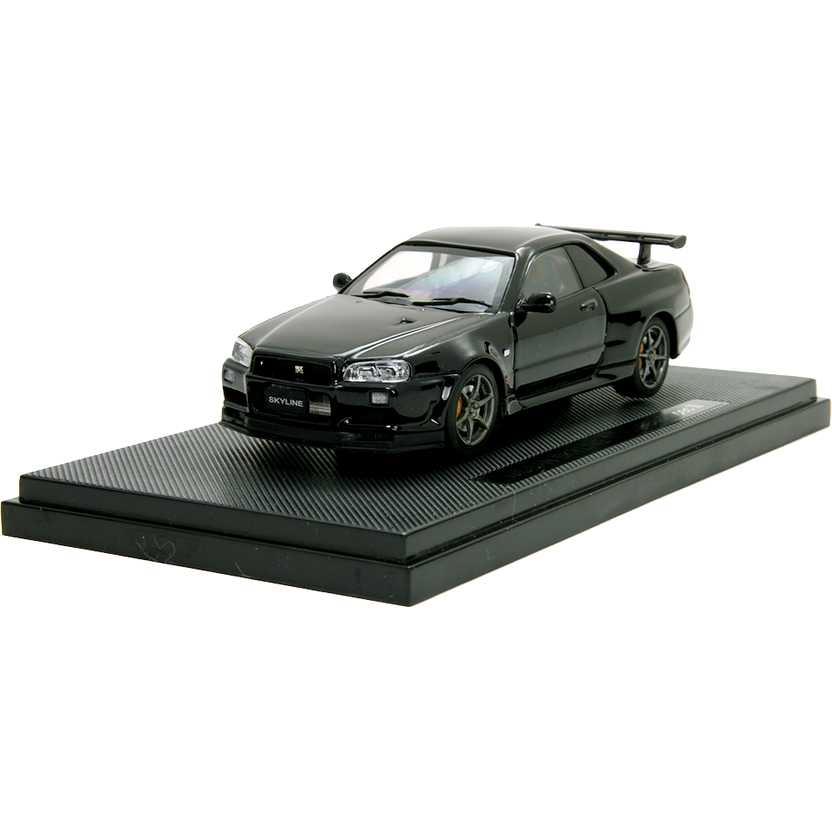 Nissan Skyline GT-R R34 V-Spec II marca Ebbro escala 1/43