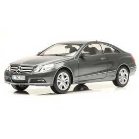 Norev Miniaturas Mercedes Benz E500 E-CLASS Coupe Tenorite Grey (2009)