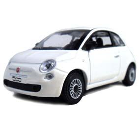Novo Fiat 500 2012 cor branca marca Norev escala 1/43