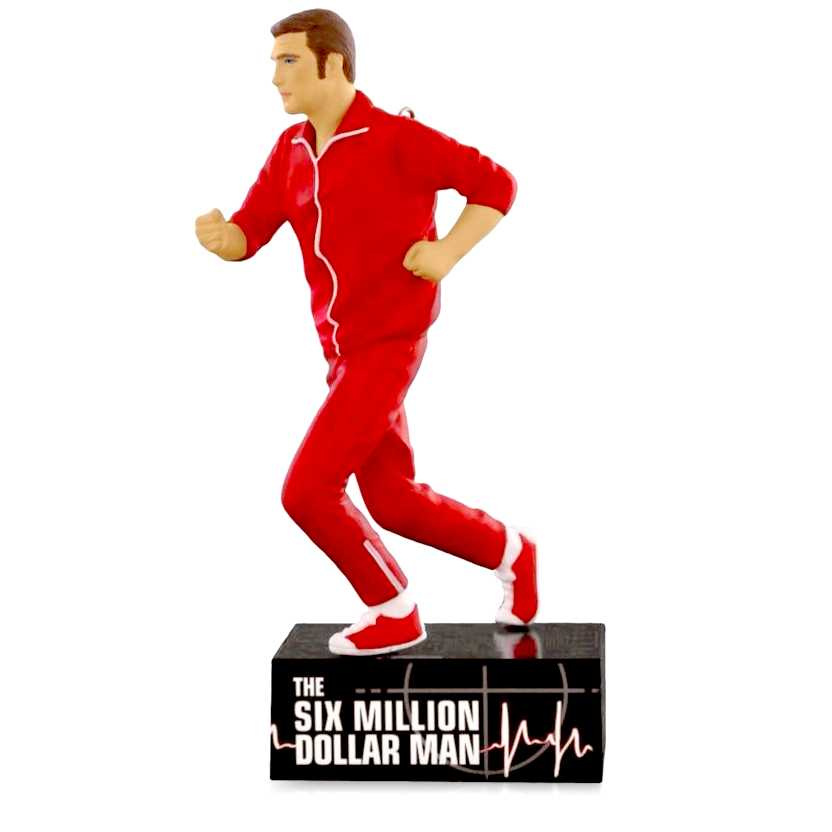 O Homem de Seis Milhões de Dólares boneco colecionável O Homem Biônico com som