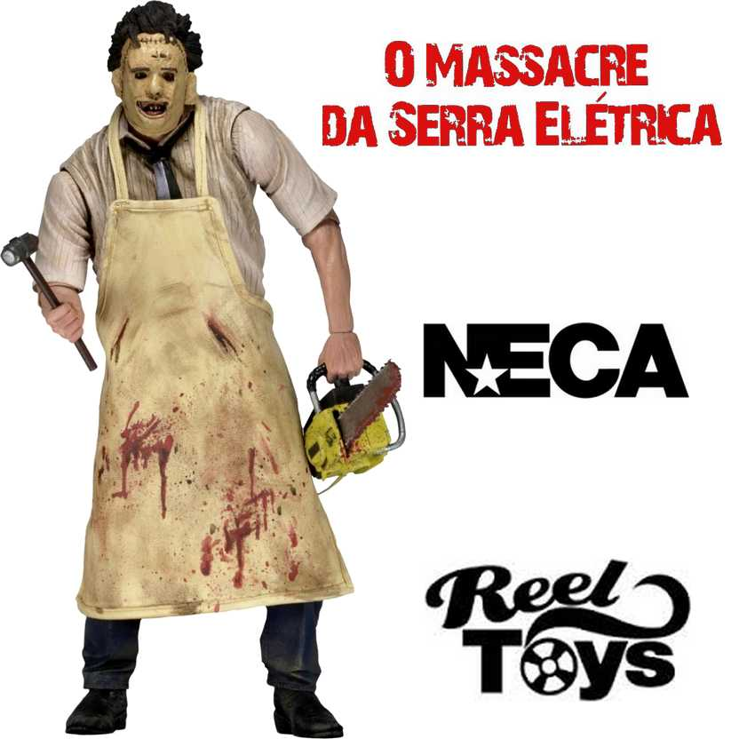 O Massacre da Serra Elétrica Leatherface (Neca) Texas Chainsaw Massacre Ultimate figure