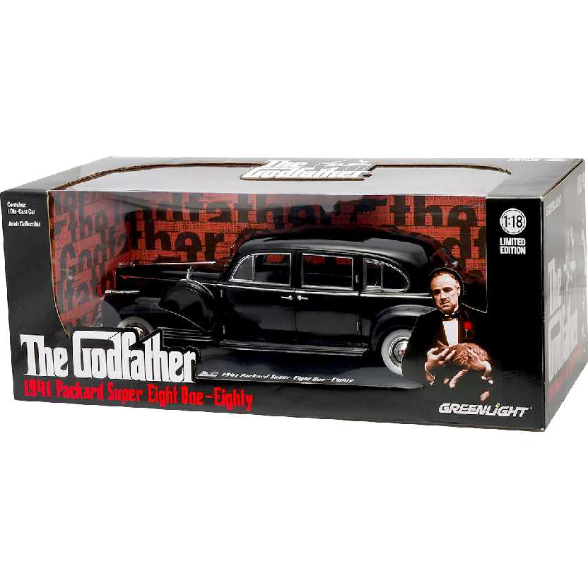 O Poderoso Chefão - Packard Super Eight One-Eighty (1941) The Godfather escala 1/18