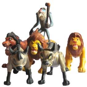 O Rei Leão ( Mufasa, Simba, Scar, Rafiki, Shenzi e Banzai ) ABERTO