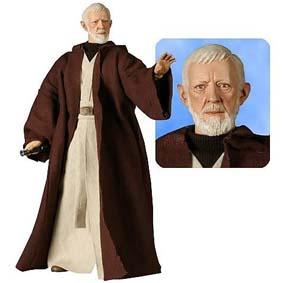 Obi-Wan Kenobi Star Wars Episode IV (aberto) sem caixa