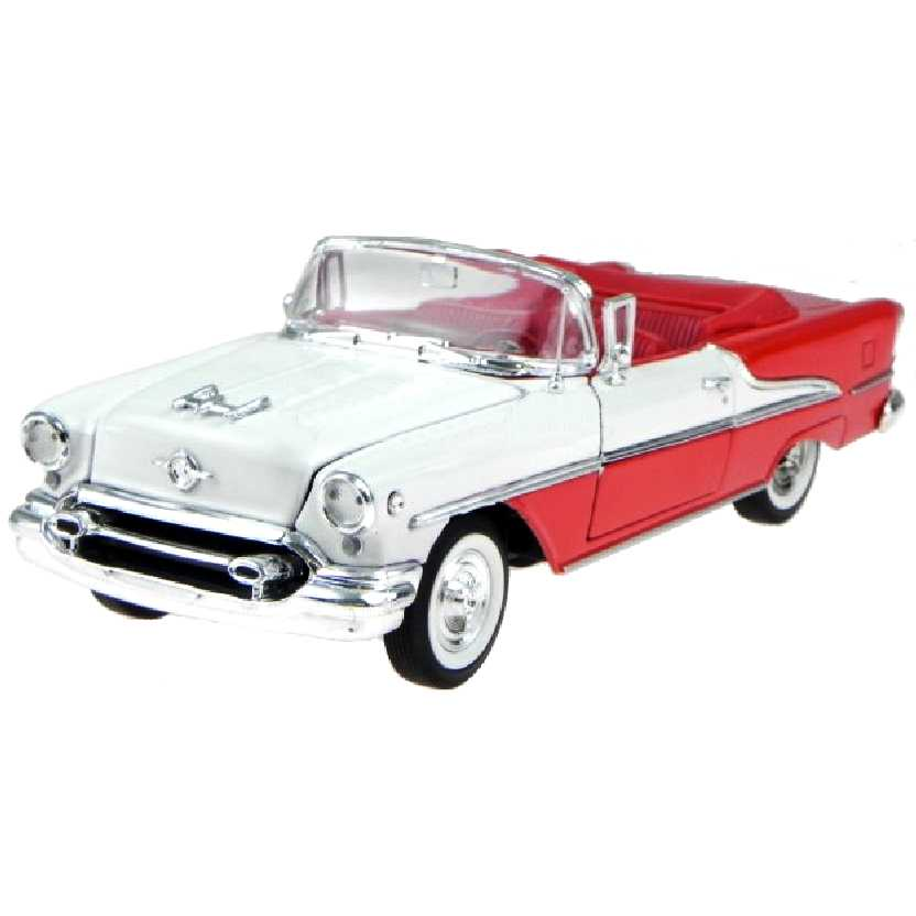 Oldsmobile Super 88 Conversível (Convertible) 1955 marca Welly escala 1/24