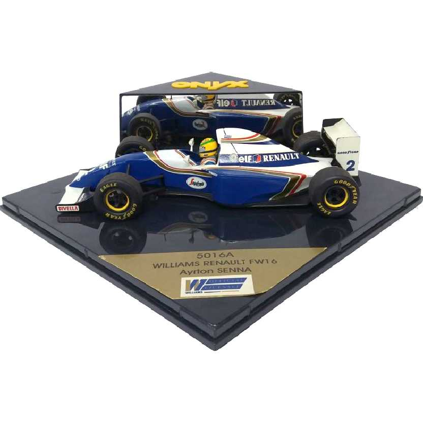 Onyx escala 1/24 Ayrton Senna Williams Renault FW16 1994 (RARIDADE)