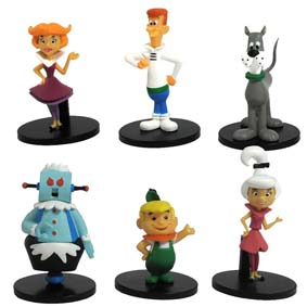 Os Jetsons personagens George, Judy, Jane, Rosie, Astro e Elroy ( The Jetsons )