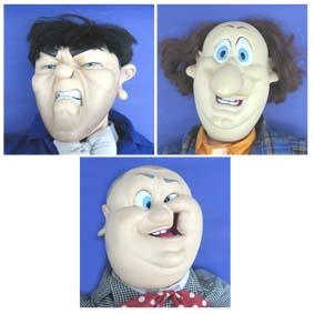 Os Três Patetas (Moe, Larry e Curly)