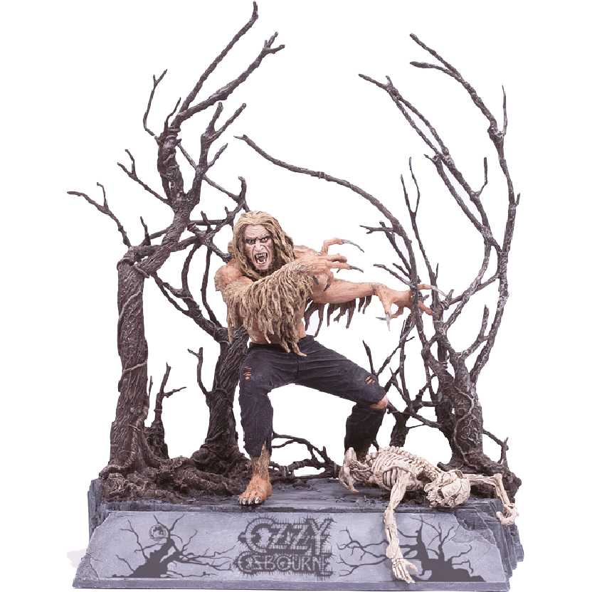 Ozzy Osbourne Bark at the moon McFarlane Toys