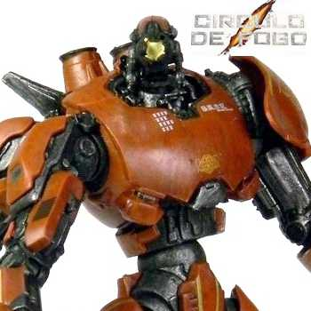 Pacific Rim series 1 Crimson Typhoon Jaeger (Círculo de Fogo) Neca Toys action figure