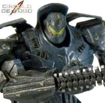 Pacific Rim Series 2-Battle Damaged Gipsy Danger (Círculo de Fogo) Neca Toys Figuras de Ação