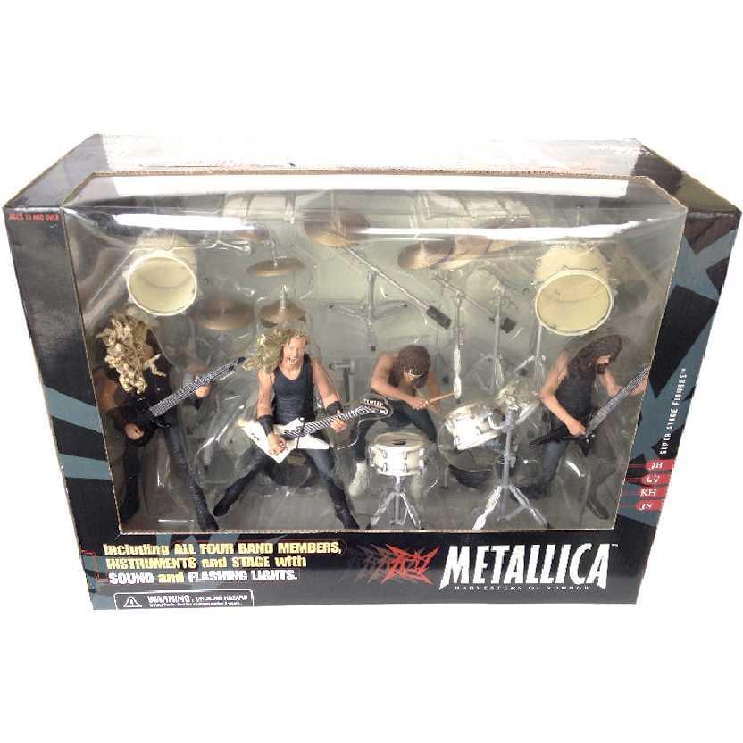 Palco do Metallica com som e Luz McFarlane Box Set Novo Lacrado