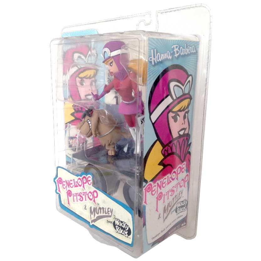 Penélope Charmosa e Muttley (lacrado) Corrida Maluca McFarlane Toys Action Figures