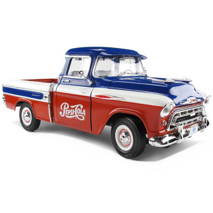 Pepsi Cola - Pickup Chevrolet / Chevy Cameo Pick up (1957) marca Auto World escala 1/18