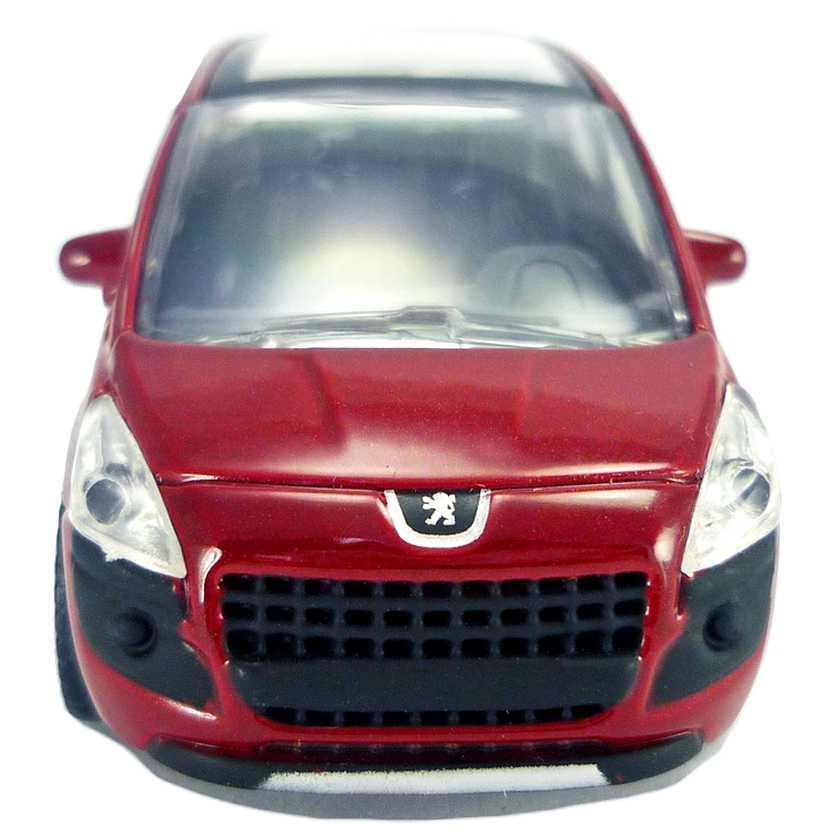 Peugeot 3008 4 portas vermelho metálico com retrovisores marca Norev escala 1/64
