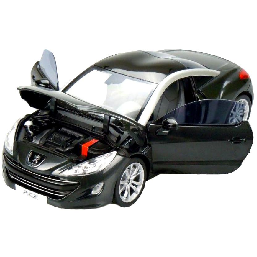 Peugeot RCZ (2010) Miniaturas Norev Diecast Brasil escala 1/18