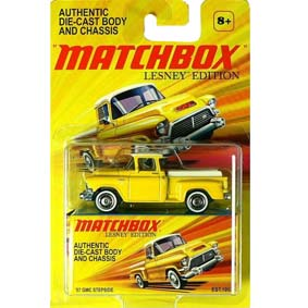 Pick up Marta Rocha Matchbox Lesney Edition Coleção 2011 GMC Stepside (1957)