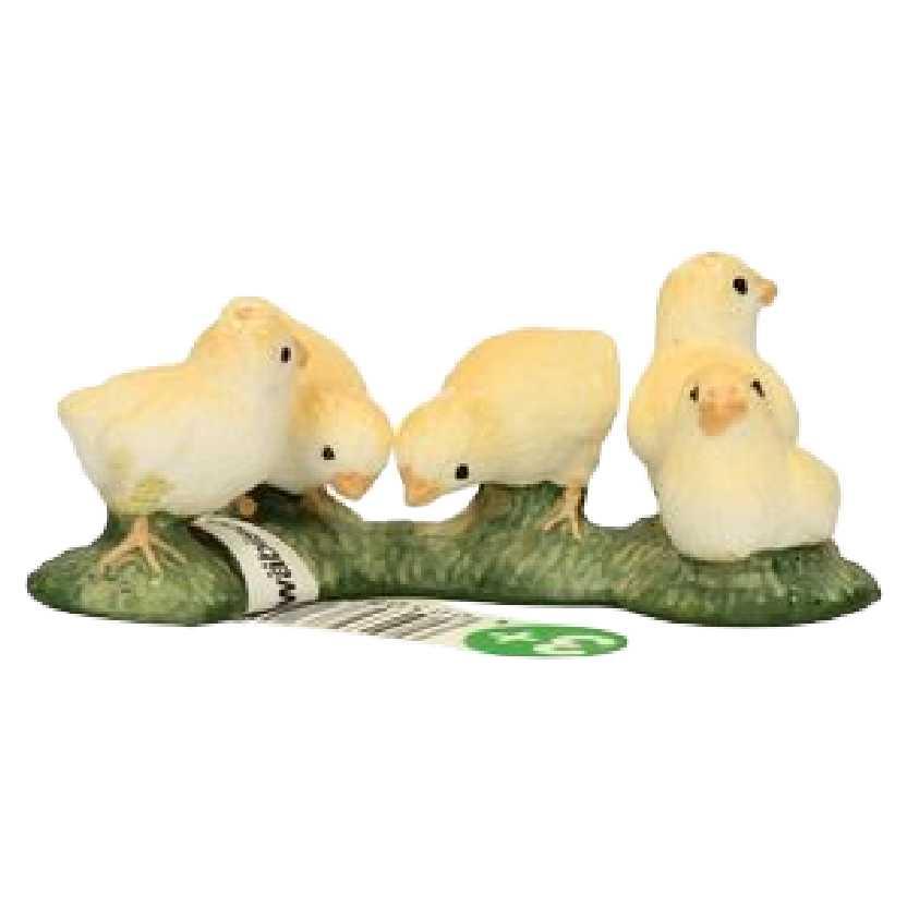 Pintinhos Schleich 13648 Chicks Chicken Poultry Farm Life