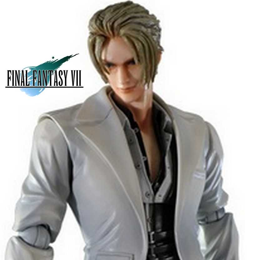 Play Arts Kai Final Fantasy VII Advent Children Rufus Square Enix Action Figures