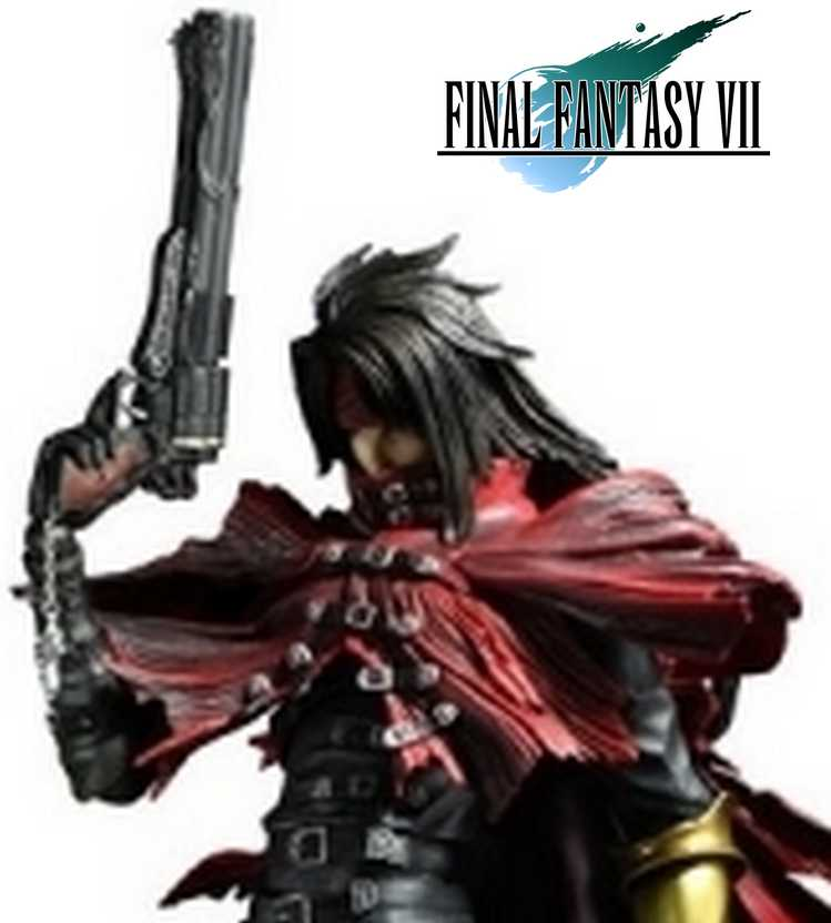 Play Arts Kai Final Fantasy VII Advent Children Vincent - Square Enix Action Figure