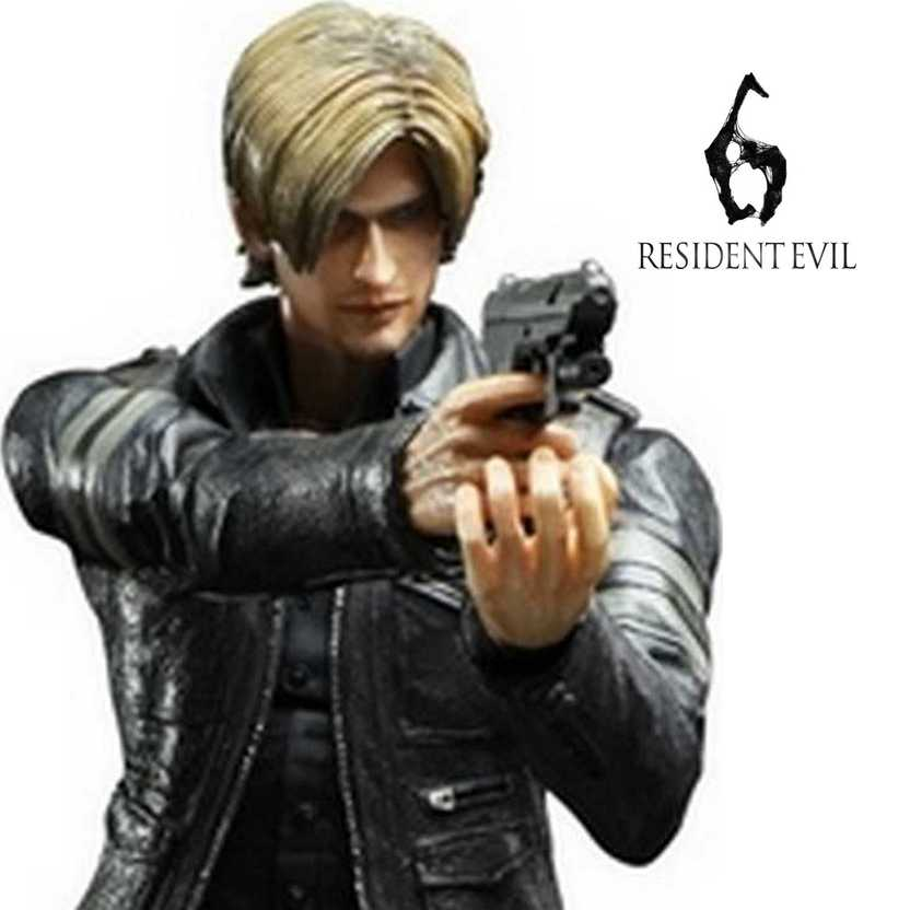 Play Arts Kai Resident Evil 6 Leon S. Kennedy Square Enix action figures