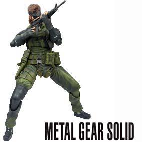 Play Arts Kai :: Square Enix Boneco do Metal Gear Solid Peace Walker Jungle