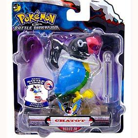 Pokemon Battle Dimension - Chatot (series 8)
