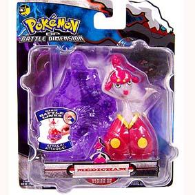 Pokemon Battle Dimension - Medicham (series 8)