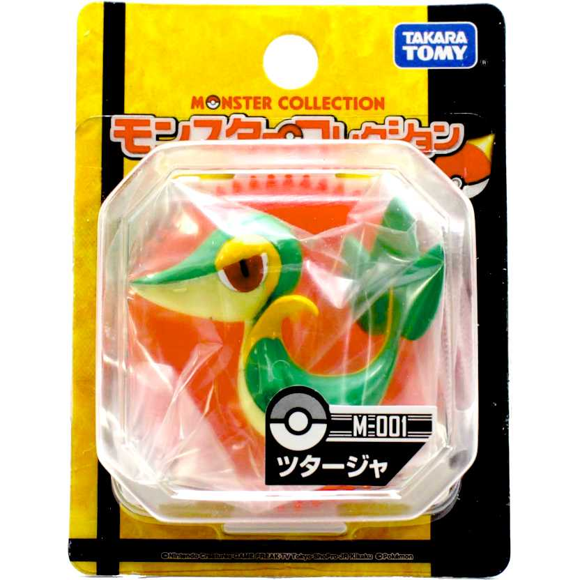Pokemon Black and White M-001 Tsutarja / Snivy Monster Collection Takara / Tomy Figure