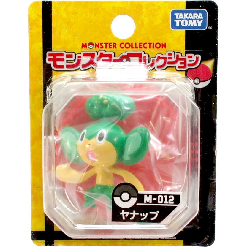 Pokemon Black and White  M-012 Yanappu / Pansage Monster Collection Takara / Tomy Figure