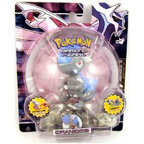 Pokemon Diamond and Pearl Series 6 - Cranidos