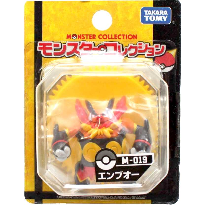 Pokemon M-019 Enbuoh / Emboar Monster Collection Takara / Tomy