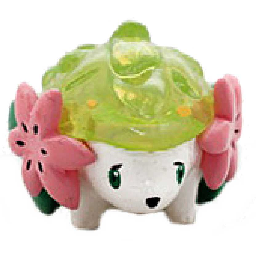 Pokemon MC-077 Shaymin transparente Monster Collection Takara / Tomy (aberto)
