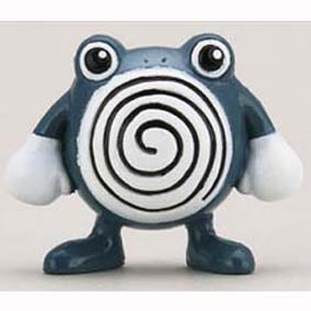 Pokemon Monster : 061 Poliwhirl (Tomy)