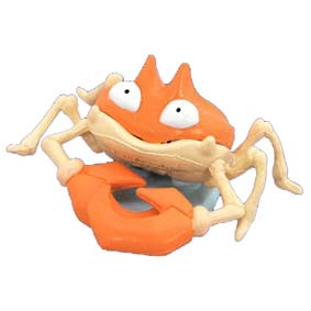 Pokemon Monster : 098 Krabby (Tomy)