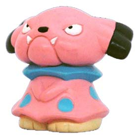 Pokemon Monster : 209 Snubbull (Tomy)