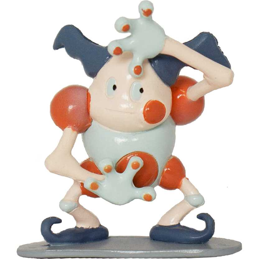 Pokemon Monster Mr. Mime base cinza Tomy / Takara (aberto) Raridade