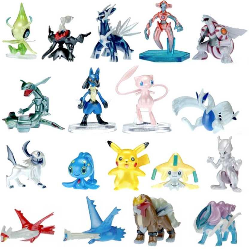 Pokemon Movie 10th Anniversary Takara Tomy boxed set (Palkia, Dialga, Lugia)