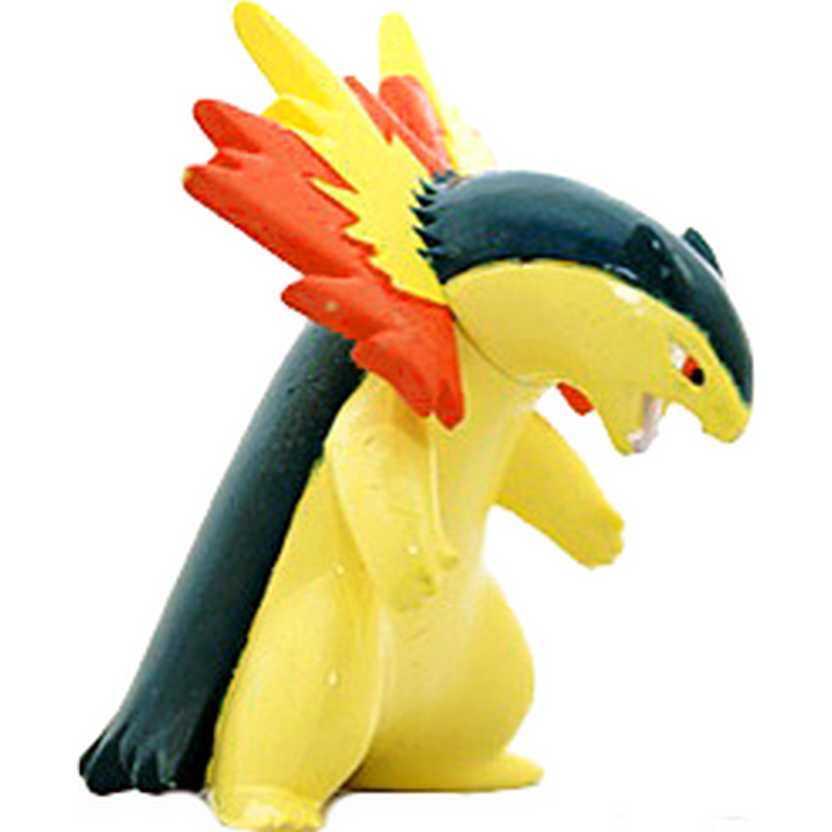 Pokemon Typhlosion / Bakphoon M-076 Monster Collection Takara / Tomy (aberto)