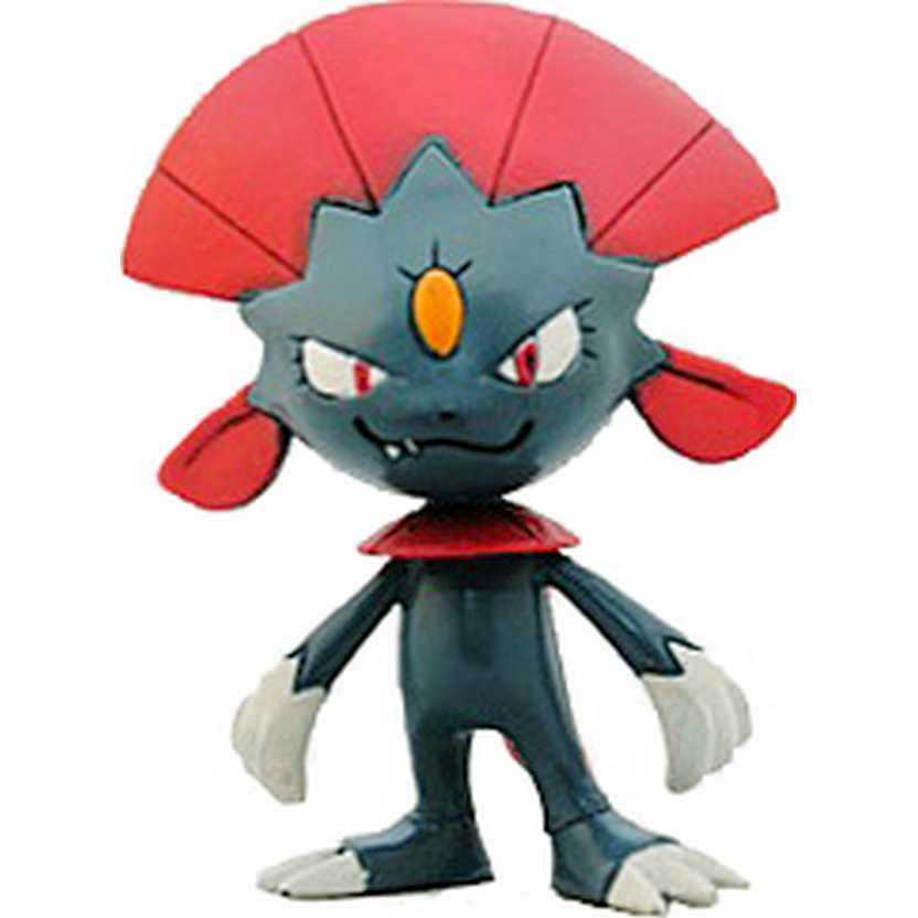 Pokemon Weavile 2005 Monster Collection Takara / Tomy (aberto)