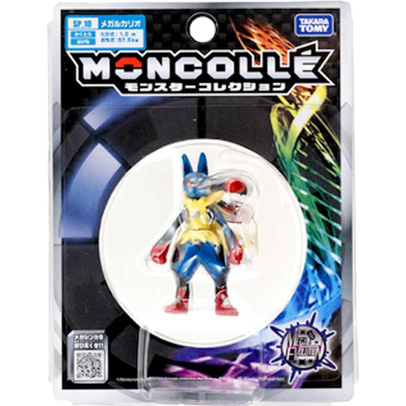 Pokemon X and Y SP 10 - Mega Lucario Action Figure Moncollé Collection Takara / Tomy