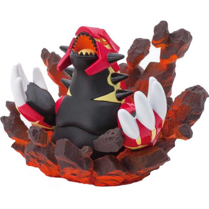 Pokemon XY Center Nintendo DS Primal Groudon Special Campaign Figure (aberto)