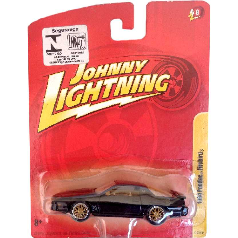 Pontiac Firebird Trans AM (1984) marca Johnny Lightning 53970GP release 8 escala 1/64 (RARO)