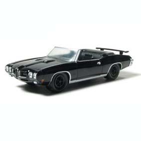 Pontiac GTO (1970) Black Bandit Greenlight 1/64 R3 27630