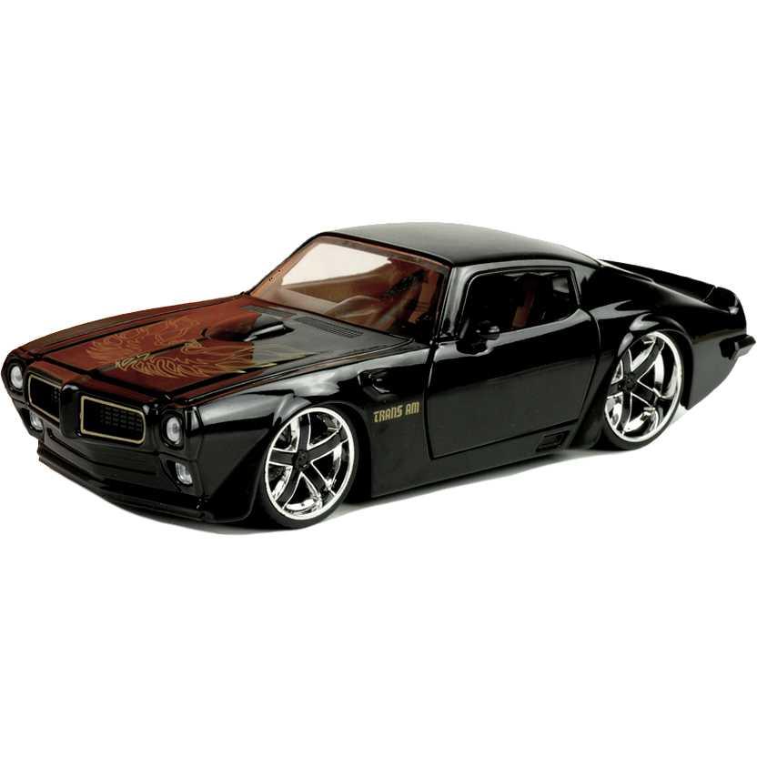 Pontiac Trans AM FireBird (1972) preto marca Jada Toys escala 1/24