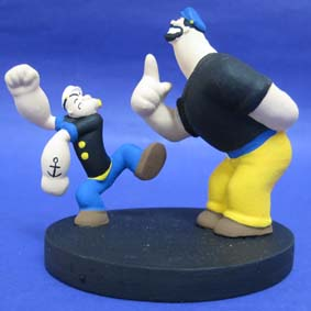 Popeye com Brutus