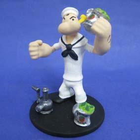 Popeye com espinafre